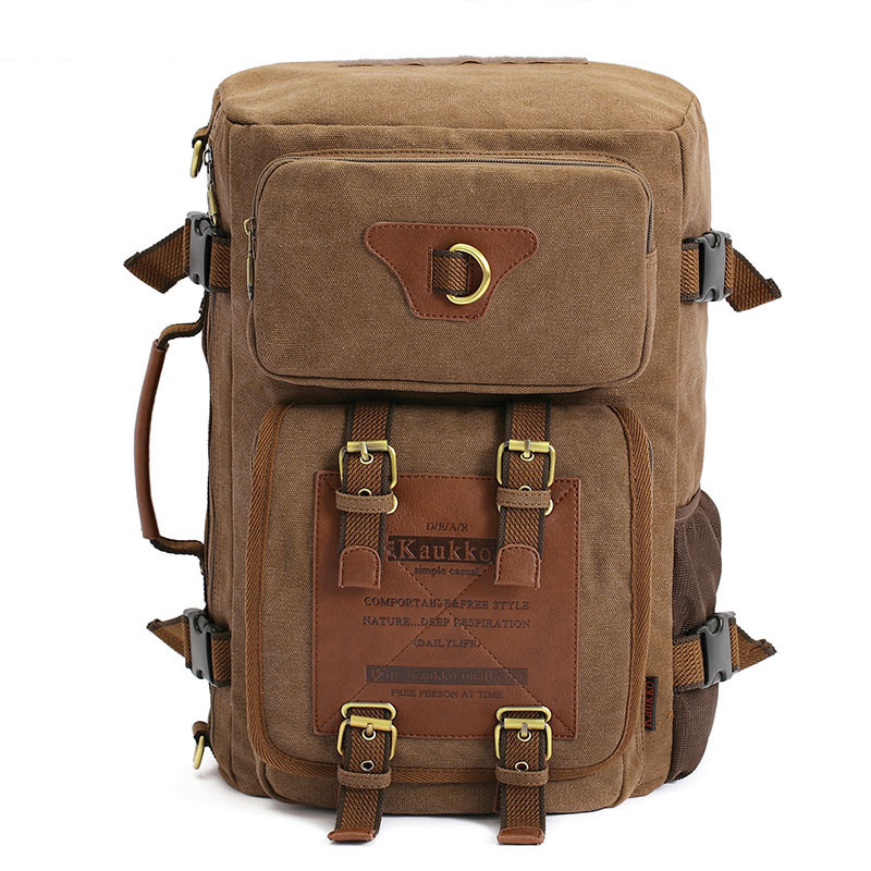 Hot Sale New  Canvas Backpack Classic fashion men's Backpack School Bag Travel Bags Large Capacity Mountaineering Backpack Bag sosw fashion anime theme death note cosplay notebook new school large writing journal 20 5cm 14 5cm