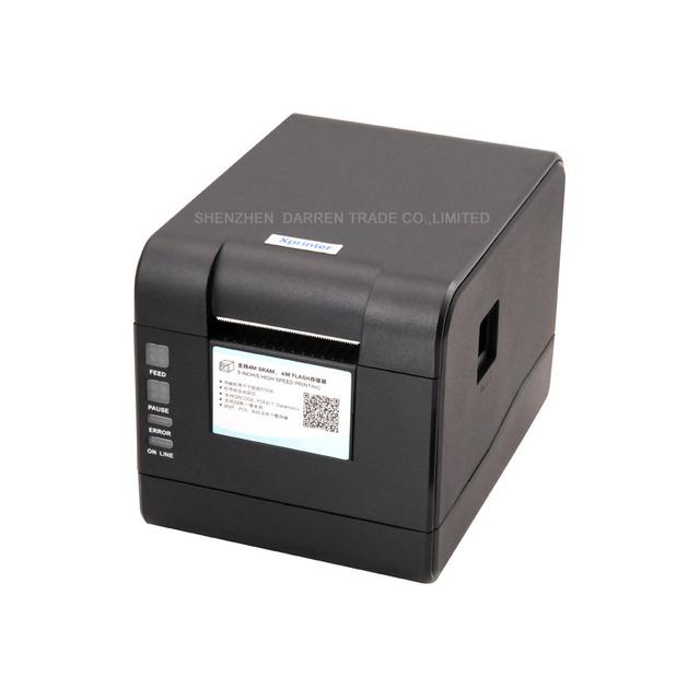Envío de dhl Nuevo llega la alta calidad Xprinter XP-233B impresora de código de barras impresora etiqueta Qr código de la etiqueta no se seca impresora