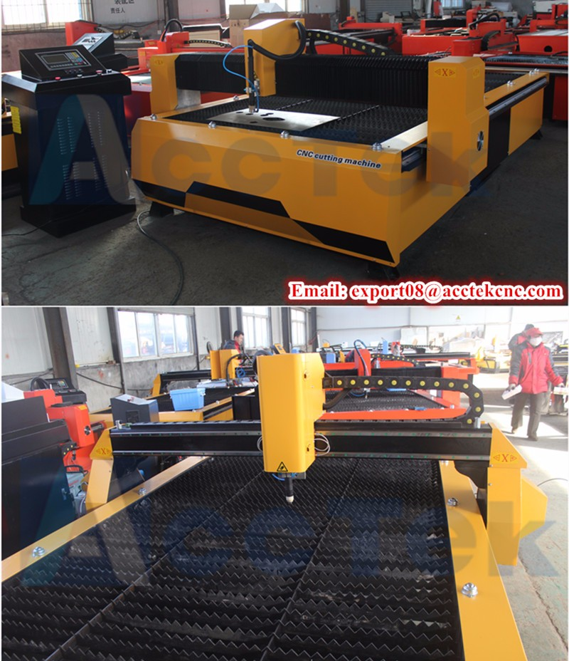 Jinan plasma cutter AKP2030 stainless steel / aluminum / iron / copper /cnc metal cutting machine price