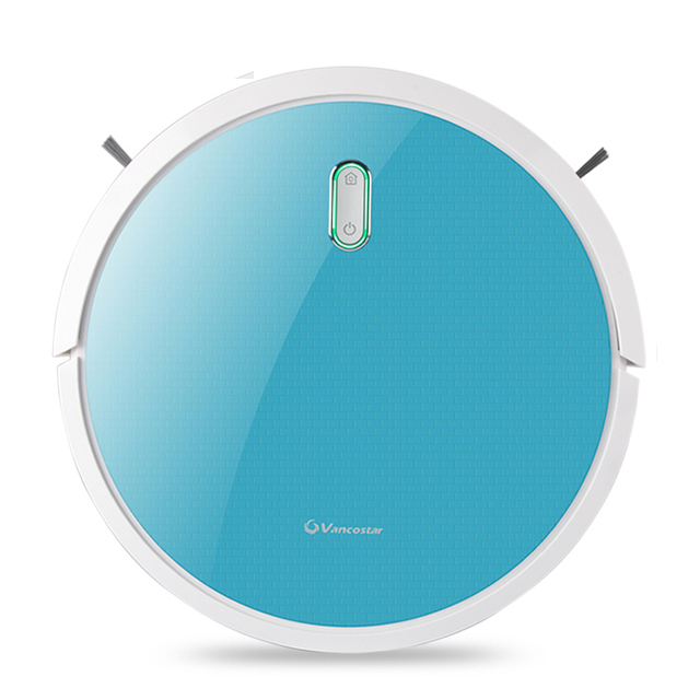 Vancostar Robot Vacuum Cleaner 1400PA 2in1 for Home Central Brush Dry Wet Water Tank PRO4S Intelligent Cleaning ROBOT ASPIRADOR