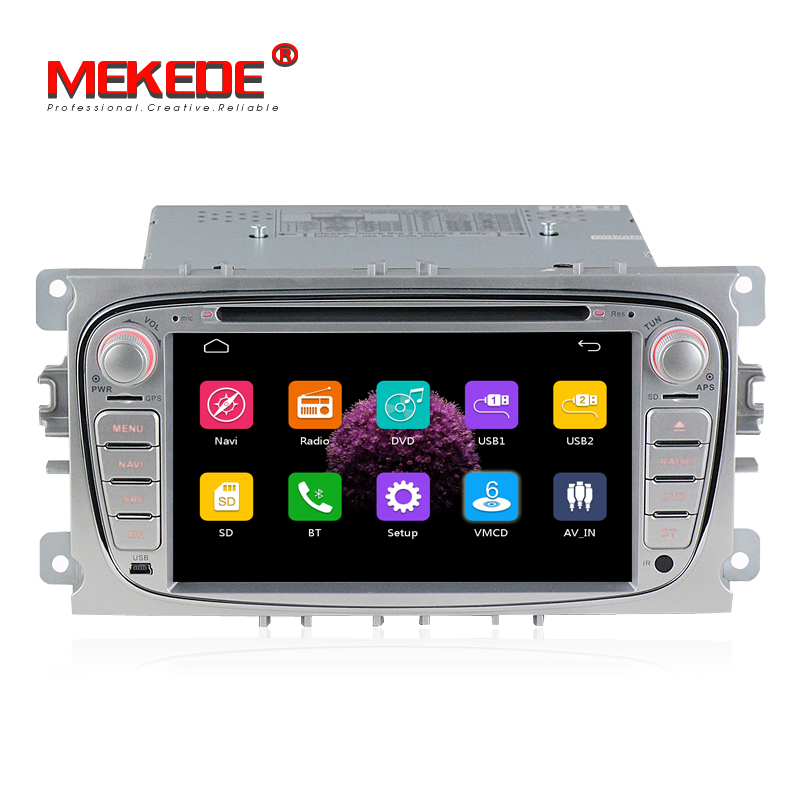 free Shipping 2 Din 7 Inch Car DVD Player For /Mondeo/S-MAX/Connect/FOCUS 2 2008-2011 with Radio GPS Navi BT 1080P  screenshot