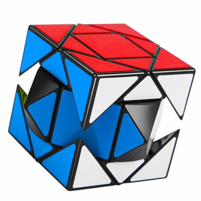 Новое поступление MoYu Yuhu Pandora, Магический кубик, Cubo magico странной-shape форме, благодаря чему создается ощущение невесомости с головоломки игрушки Magic Cube Скорость Поворотная Головоломка обучающие игрушки неокуб