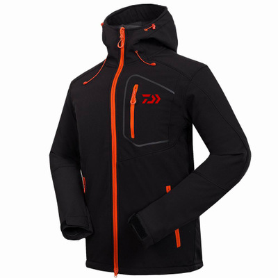 все цены на Autumn And Winter New DAIWA Fishing Suits Outdoor Assault Waterproof Warm Breathable Fleece Soft Jacket Zipper Fishing Shirt