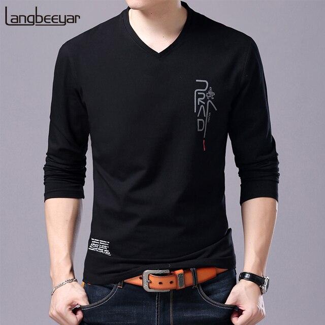 063e9ebd 2019 New Fashion Brand T Shirt For Men Korean Boyfriend Gift Trending Tops  Streetwear V Neck
