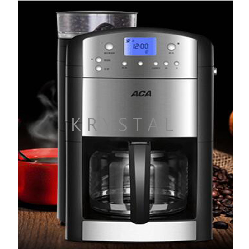 Automatic Espresso Coffee Machine Household Electric Coffee Maker Amercian Cafe Machine Coffee Grinder AC M125A big promotion in Coffee Makers from Home Appliances