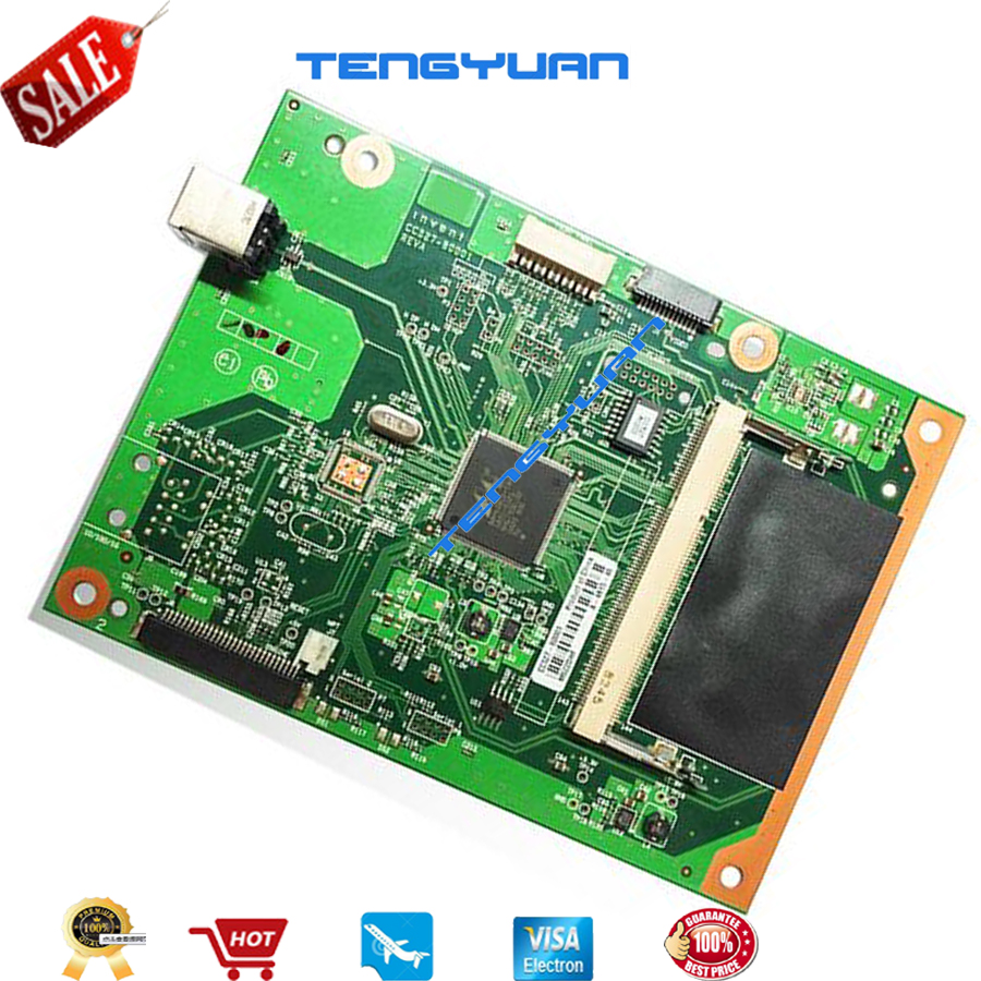 Free shipping 100% test for HP2055 P2055D Formatter Board CC527-60001 on sale 2055 main board original new formatter board logic board main board cc527 60001 cc527 60002 for hp p2055d hp2055d hp2055 series