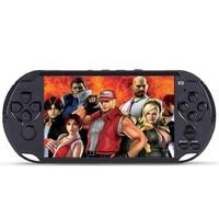 Vidéo console 5.0 Portable Jeux Lecteur Grand Écran TV Out Stand Avec MP3/Vidéo Caméra Multimédia Vidéo Jeu Console