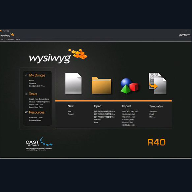 Image 5 - WYSIWYG Release 40 R40 preform  Encrypted dog-in Stage Lighting Effect from Lights & Lighting on
