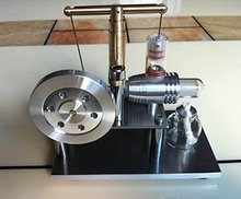Hot Air Stirling Engine Model Education Toy Electricity Power Sc02