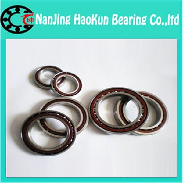 100mm diameter Angular contact ball bearings 7220 C/P4 100mmX180mmX34mm,Contact angle 15,ABEC-7 Machine tool