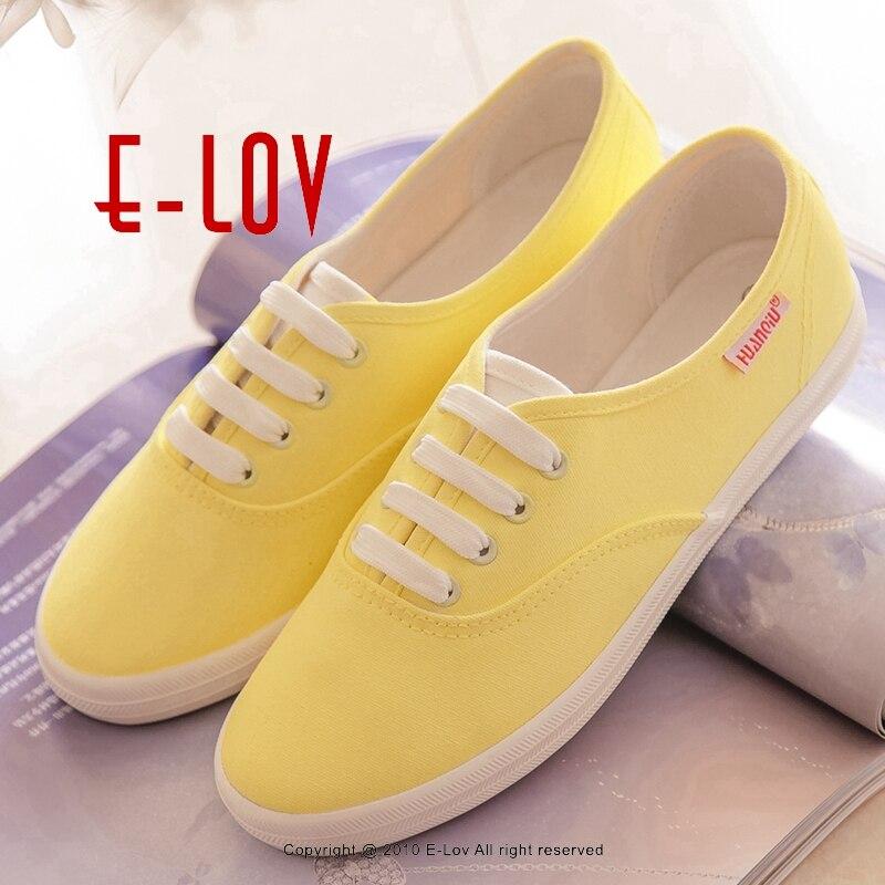 Chaussures jaunes Casual femme 5 - US 10 SpF7Tgc