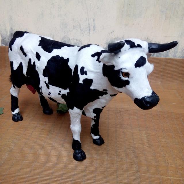 Grand 50x32 CM vache, vache laitière modèle, polyéthylène et ...