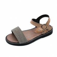 2600fb9e277 2018 nuevos niños sandalias para niñas Zapatos Niños playa de verano poco  grandes niñas punta abierta