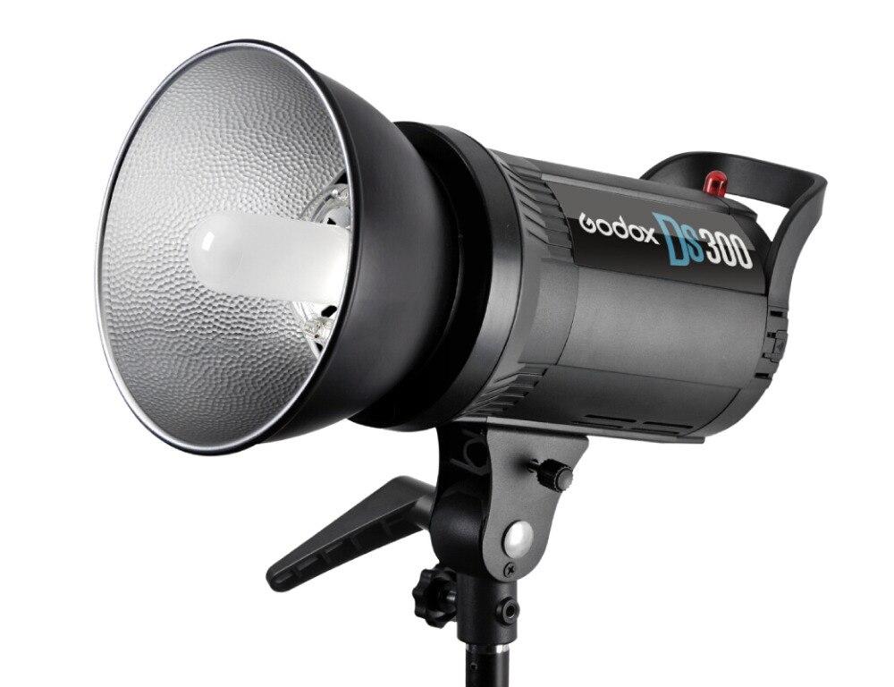 Godox DS300 300 W Compact Studio Flash Light Strobe Éclairage Tête De La Lampe 220 V 300 w