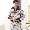 Factory price ! Russia men warm winter overalls , winter clothes for male ,knitting quilted pajamas home wear pijamas hombre 3XL