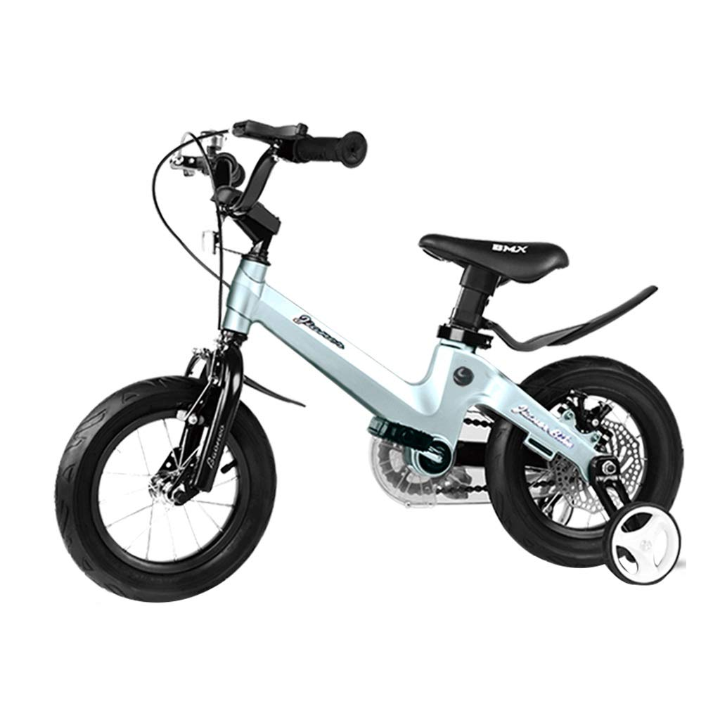 Boy Bikes 2 8 Years Old Child Bike Blue Bicycle Child s Gift Magnesium Alloy Material