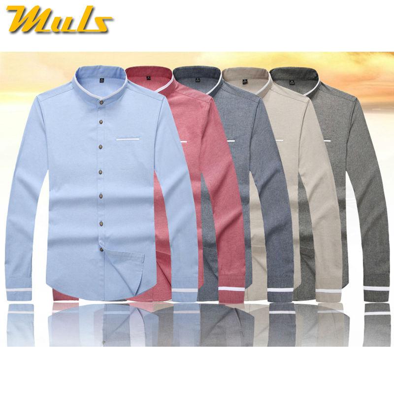 be4782fd4c Moda urbana 5XL vestido de los hombres camisa de manga larga marca  importados Camisa de algodón casuales baratos Chinos de los hombres Camisas  Slim camisa ...
