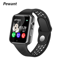 Pewant GPS Bluetooth Smart Baby Watch With Camera Pedometer Waterproof Wristwatch SOS Anti lost Touch Screen For Children Kids