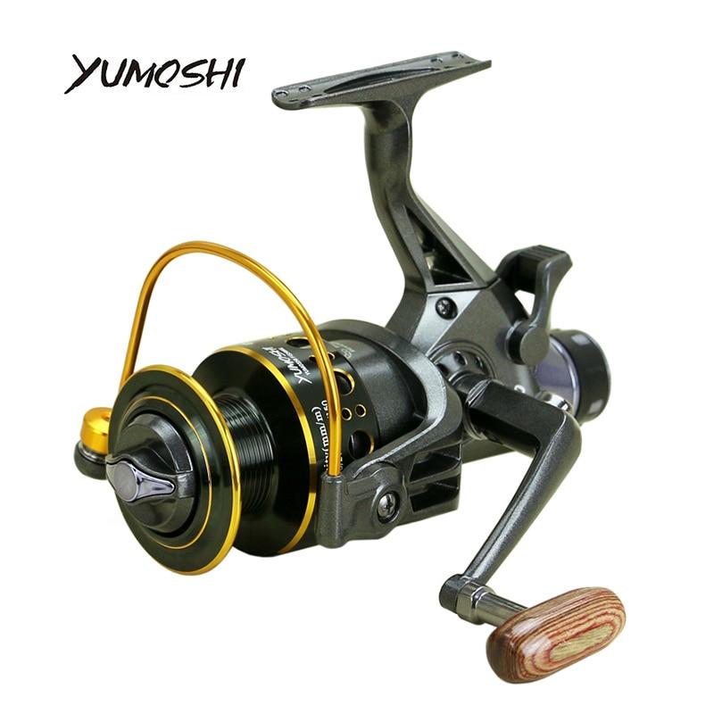 YUMOSHI 2017 nuovo 10 + 1 BB Anteriore e Posteriore Trascinare bobine di 3000 4000 5000 6000 bobine di pesca