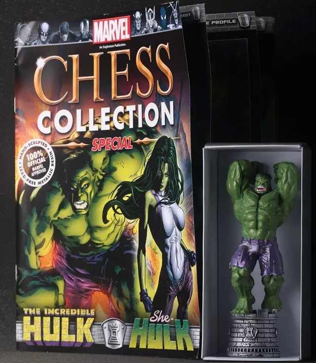 Marvel Chess Hulk Super Heroes PVC Action Figure Toys Collectible Model 6