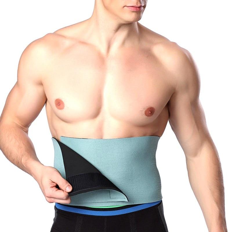 Men High Elastic Waist Shaper Belt Slimming Underwear Shrink Waist Belly Abdomen Waistband Compression Strap Shapewear