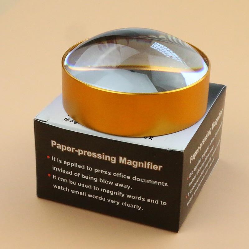 6X luup multifunktsionaalne lugemisklaas lupa kaasaskantav 60 mm - Mõõtevahendid - Foto 6