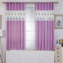 Home Garden - Home Textile - 1pc 1*2.0 Window Curtains For European Simple Printing Children Bedroom Curtains Manufacturers Selling Windows