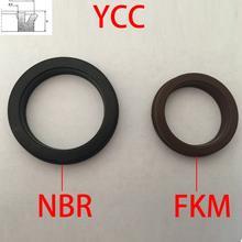 YCC 50*40*6 50x40x6 63*53*7 63x53x7 GP Y-QGP negro NBR marrón flúor FKM caucho pistón del cilindro neumático varilla Junta junta de aceite