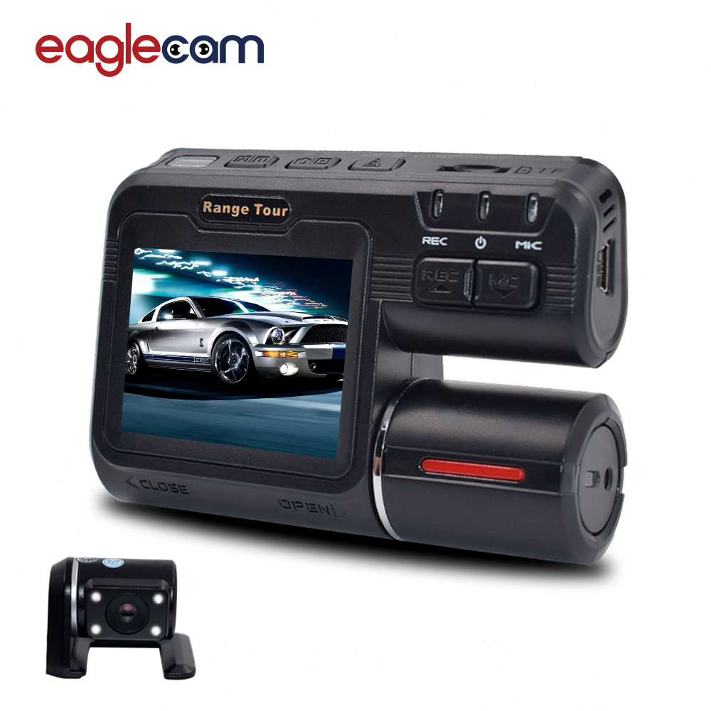 Dual Dash Cam >> Newest i1000s Car DVR Dual Lens Camcorder 1080P Dash Cam with H.264 Camera Rear View Vehicle ...
