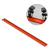 600mm/800mm Red Woodworking T slot Miter Track Aluminum Alloy T track Standard For Woodworking 1 Set J3