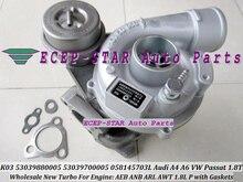 K03 53039880005 058145703H 06A145703B 058145703LX Turbine Turbo For Audi A4 A6 For VOLKSWAGEN VW PASSAT AEB ANB AWT 1.8T 1.8L P
