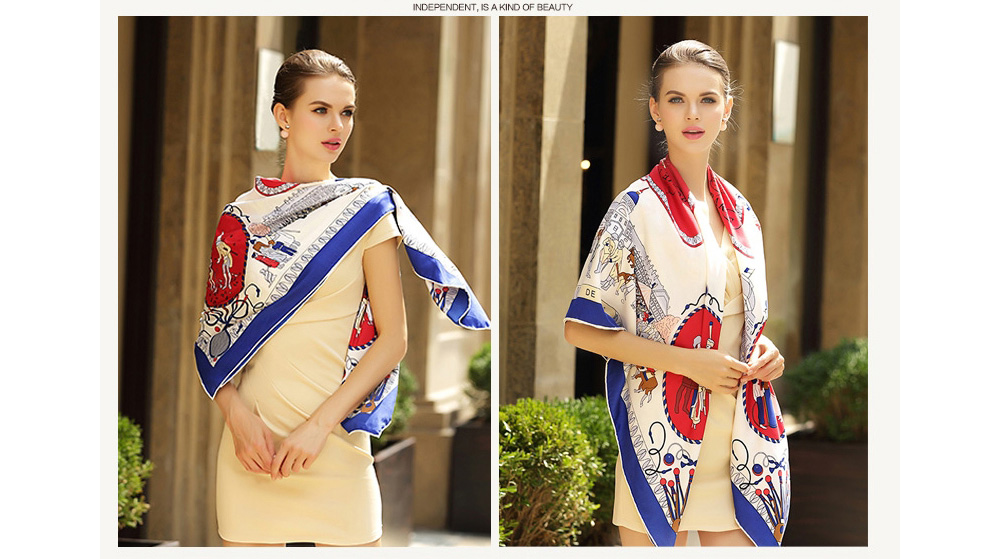 Silk Printed Bandanas (10)