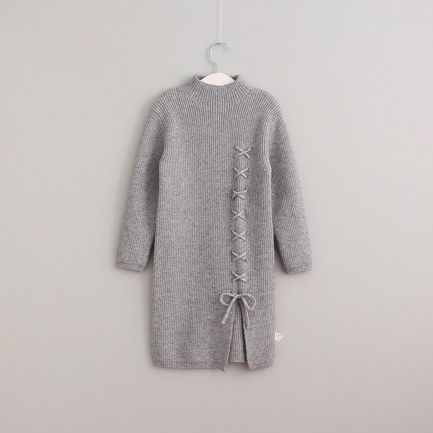 Aliexpress.com : Buy Christmas Kids Girls Knit Bow Sweater ...