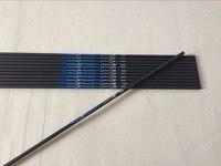 500 шт. углерода стрелки вал spine300/340/400 id6.2 для блочного Лука и традиционный лук стрельба из лука охота