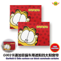 Car Accessories Garfield  cartoon car side window sun shades curtains (1 Pair) free shipping G001