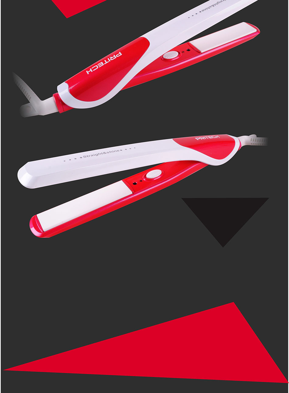притечь щипцы для выпрямления волос с керамическим покрытием ТП-808