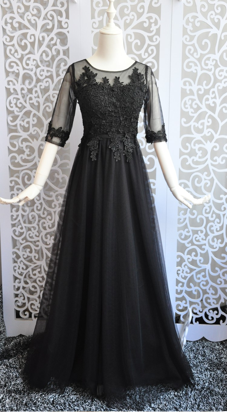 Black Long   Dress   Wedding Party   Dresses   for Women Sexy   Dress     Bridesmaid     Dresses
