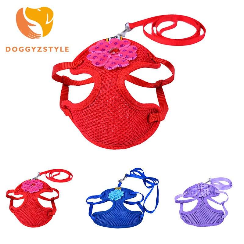 DOGGYZSTYLE Ademend Mesh Hart Versier Kleine Hond Huisdierentuig en - Producten voor huisdieren