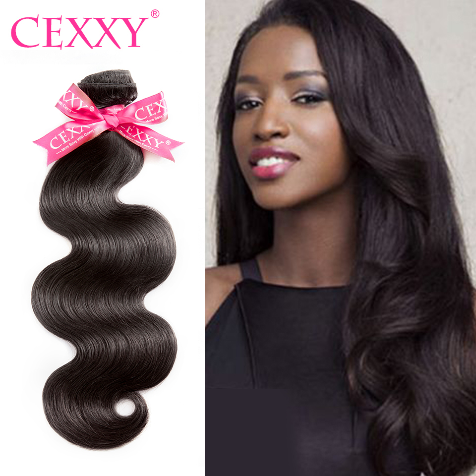 Learned Cexxy 8a Virgin Hair Brazilian Hair Weave Bundles Body Wave 100% Human Hair Bundles 1/3/4 Pcs Nature Color Free Shipping Strengthening Waist And Sinews Hair Extensions & Wigs