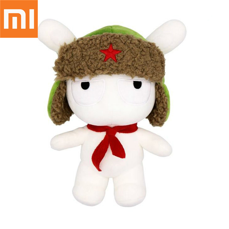 Original xiaomi Mitu Rabbit Doll 25CM PP Cotton wool Cartoon Cute Toy Gift for Kids Girls Boys Birthday Christmas friend