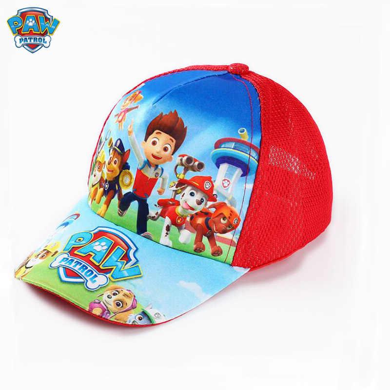 Paw Patrol algodón patrulla canina bonitos sombreros de verano para niños gorras sombrero Chapeau cachorro estampado fiesta niños cumpleaños regalo juguete