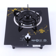 Embedded Tempered Glass Household Single-cooker Built-in Gas Hob Energy-saving Liquefied Gas Cooktop Mini Range for Home