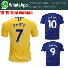 a6b633508 Thai AAA+ 2019 Top quality Chelseaes jersey adult Soccer jersey 18 19 Home  Away football camisetas shirt football Free shipping
