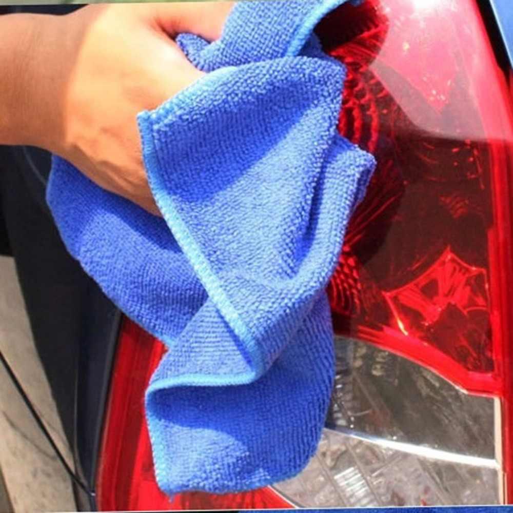 Cuci Mobil Handuk Microfiber Mobil Membersihkan Cepat Pengeringan Kain Perawatan Mobil Hemming Penyerapan Air Kain Handuk