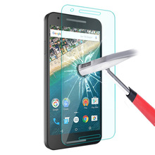 Screen Protector Film Tempered Glass For Google Pixel XL Nexus4 5 6 5X 6P LG Nexus5 Nexus5X Nexus6 Huawei Nexus6P + Cleaning Kin