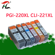 Für PGI220 CLI221 Kompatibel PGI220 Tinte Patrone für Canon MP540 MP545 MP558 MP560 MP568 MP620 MP638 MX870 IP4600 drucker