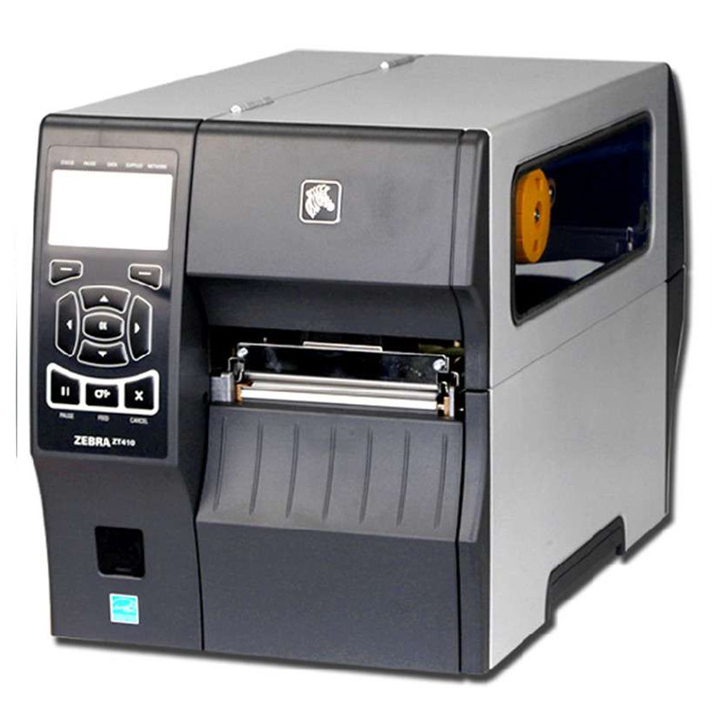 Zebra ZT410 Industrial Thermal Transfer Table Top Printer, 203 DPI, Monochrome, With 10/100 Ethernet, USB Host,ZM400 updated