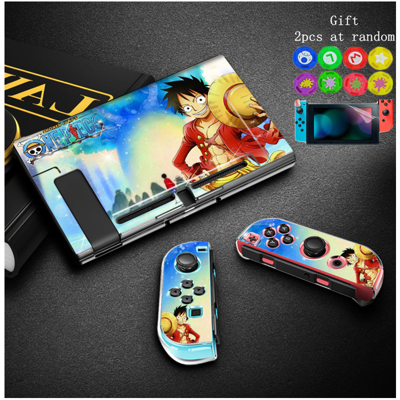 Straightforward Anti-fingerprint Nintend Switch Hard Thin Case Shell Anime One Piece Protector For Nintendoswitch Console Game Accessories&gift Cases