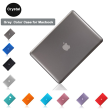 Clear Crystal Hard PC Case Shell Case Cover for Macbook 11.6air A1465 A1370 12inch A1534 with screen protector+keyboard skin