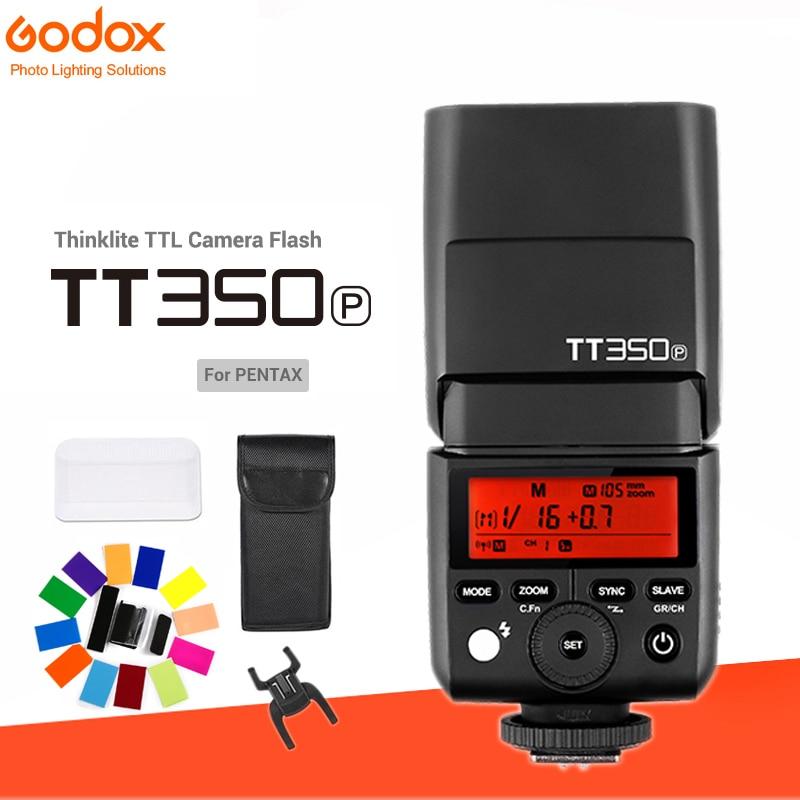 Godox Mini Speedlite TT350 TT350P Camera 2 4GHz Wireless Flash TTL HSS GN36 Wireless Flash XPro